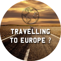 travelling to europe